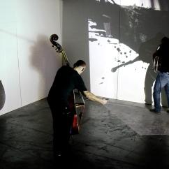 Jan Pillaert - tuba Peter Jacquemyn - bass Klaas Verpoest - Brody Neuenschwander - Sigrid Tanghe - projection