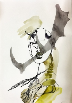 dorée _watercolour paper 220 gr. _ 2017